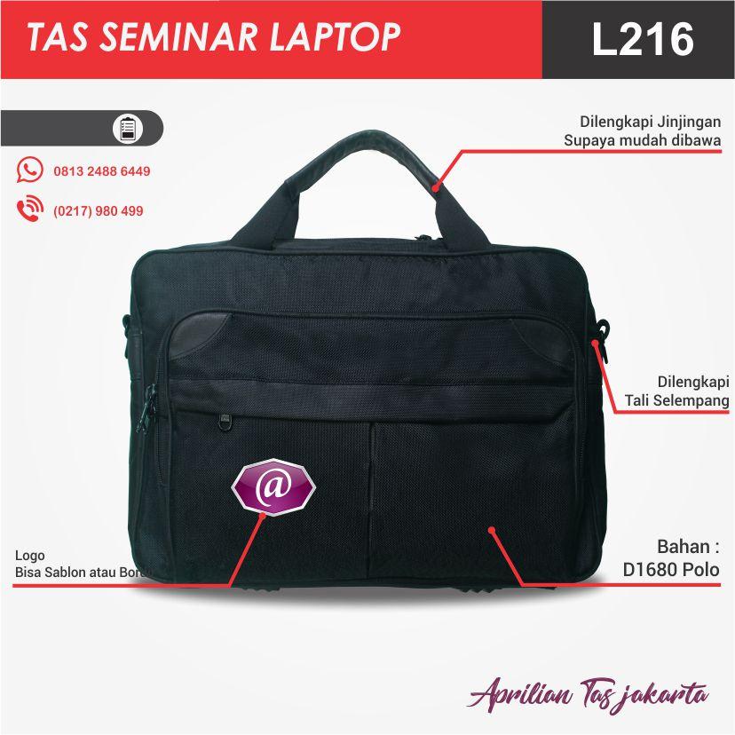 full deskripsi tas seminar laptop l216 konveksi tas seminar jakarta