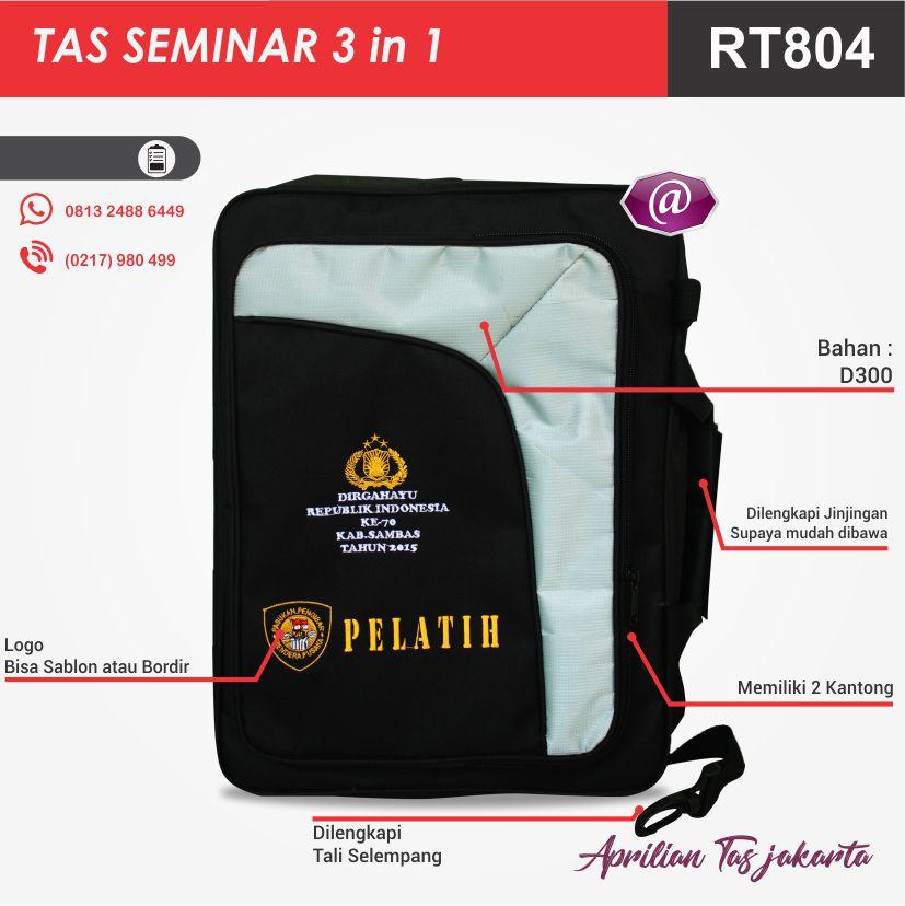 deskirpsi penuh tas seminar 3in1 pesan tas seminar jakarta