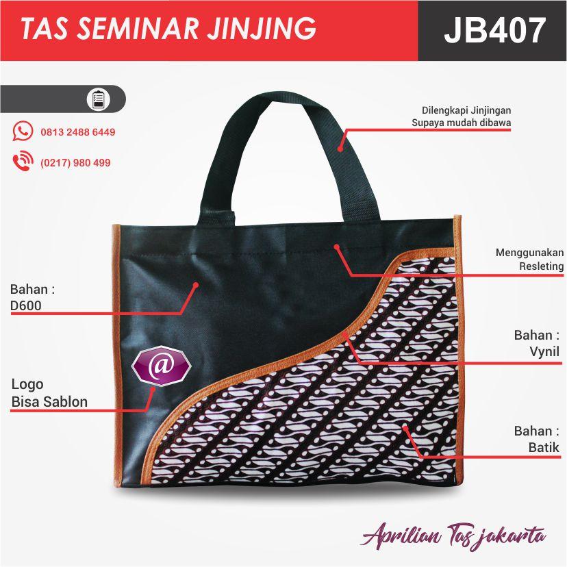 detail tas seminar jinjing batik JB407 pesan tas seminar jakarta