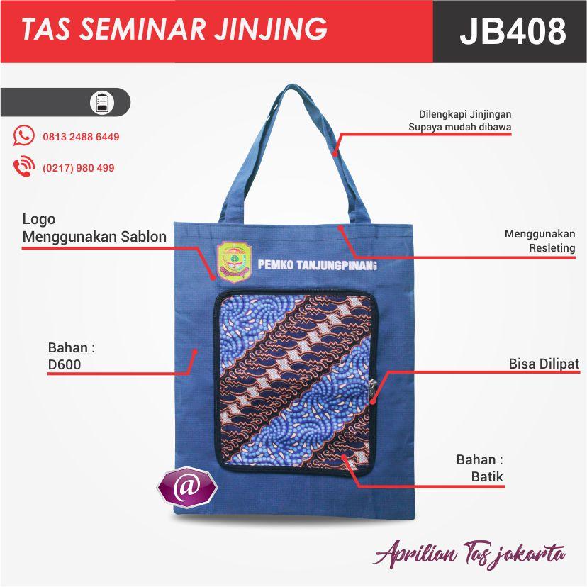 tas seminar jinjing batik JB408 konveksi tas seminar jakarta