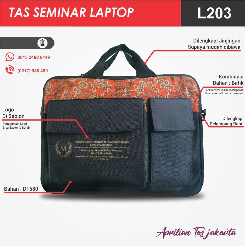 full spec tas seminar laptop l203 pabrik tas seminar jakarta