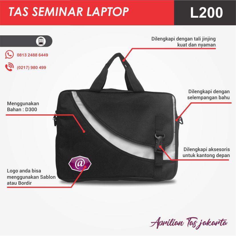 konveksi tas seminar laptop l200 pesan tas seminar jakarta