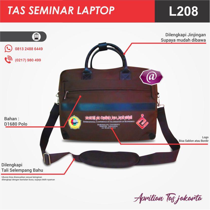 full spec tas seminar laptop l208 produsen tas seminar jakarta
