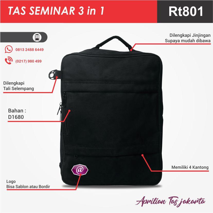full spesifikasi tas seminar 3 in 1 konveksi tas seminar jakarta