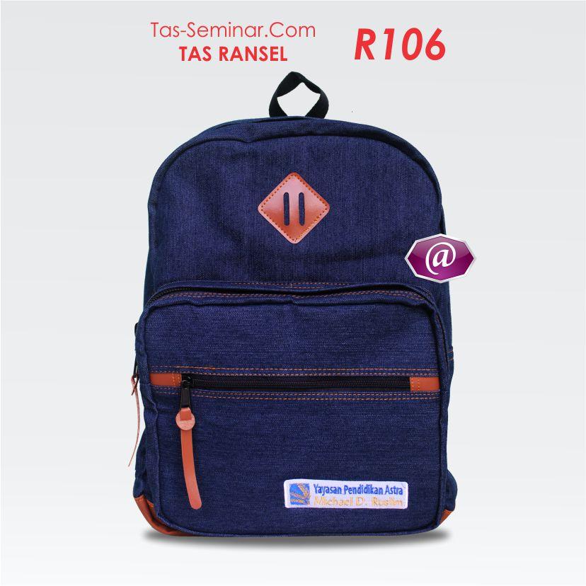 tas seminar ransel R106 produsen tas seminar jakarta