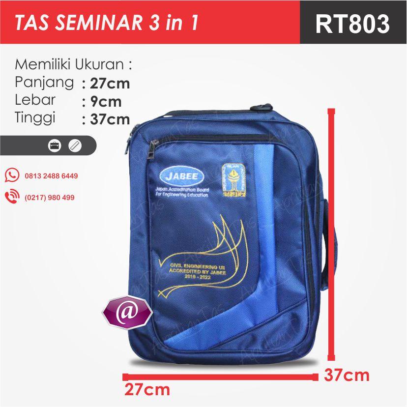 ukuran tas seminar 3in1 produsen tas seminar jakarta