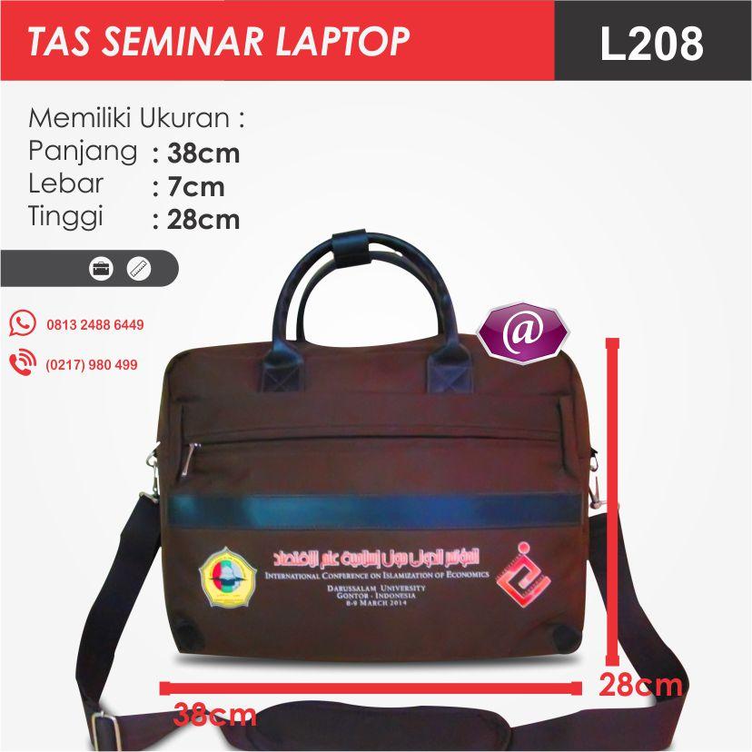 ukuran tas seminar laptop l208 pesan tas seminar jakarta