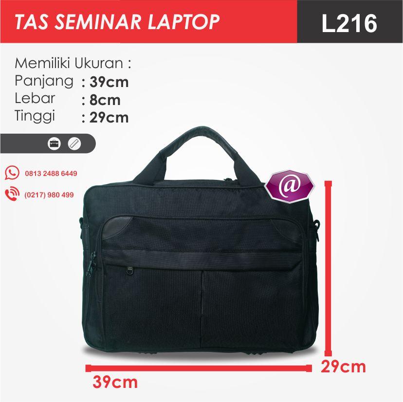 ukuran tas seminar laptop l216 produsen tas seminar jakarta