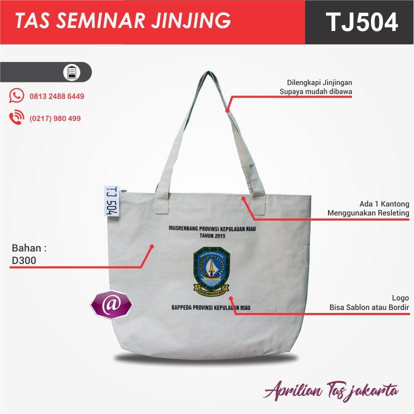 detail tas seminar jinjing TJ503 pabrik tas seminar jakarta