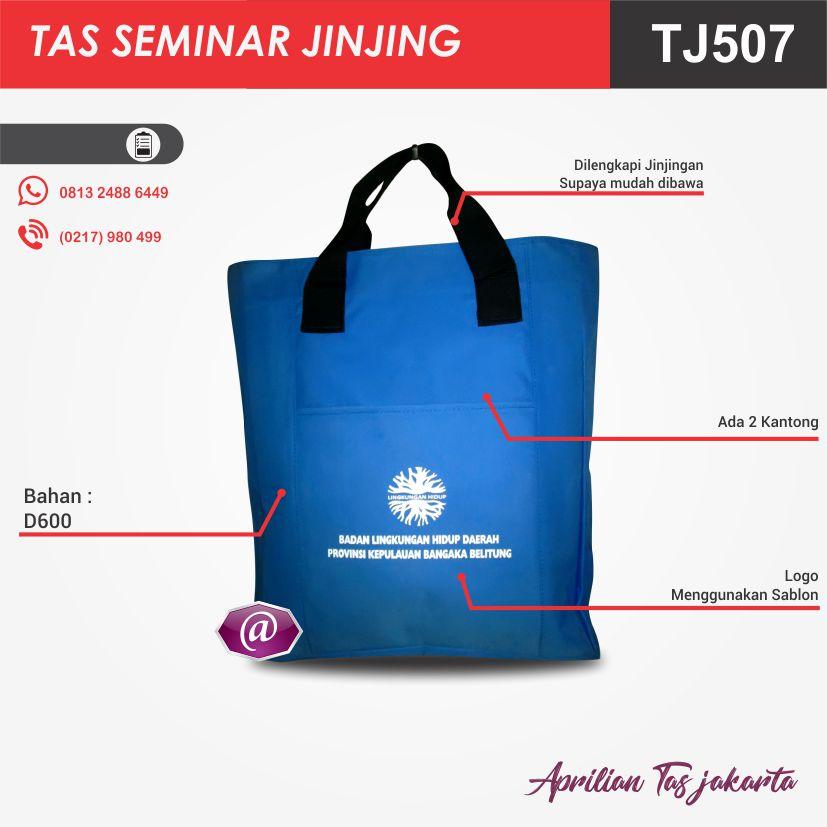 detail tas seminar jinjing TJ507 grosir tas seminar jakarta