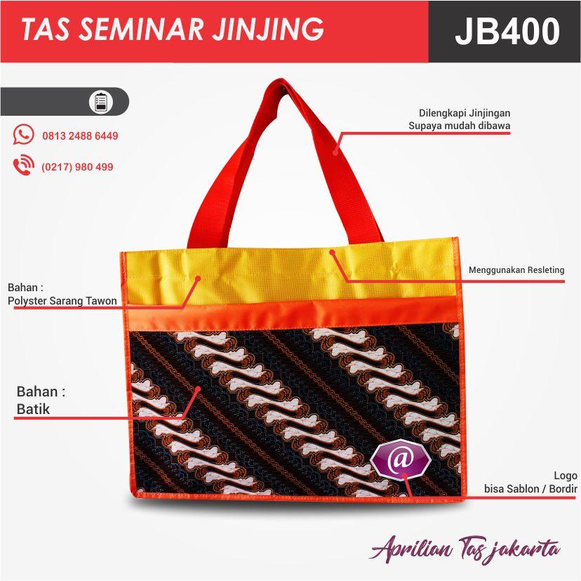 detail tas seminar jinjing batik JB400 grosir tas seminar jakarta
