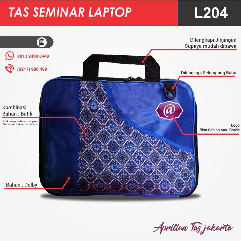 full deskripsi tas seminar laptop l204 pabrik tas seminar jakarta