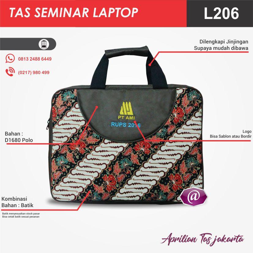 full deskripsi tas seminar laptop l206 grosir tas seminar jakarta