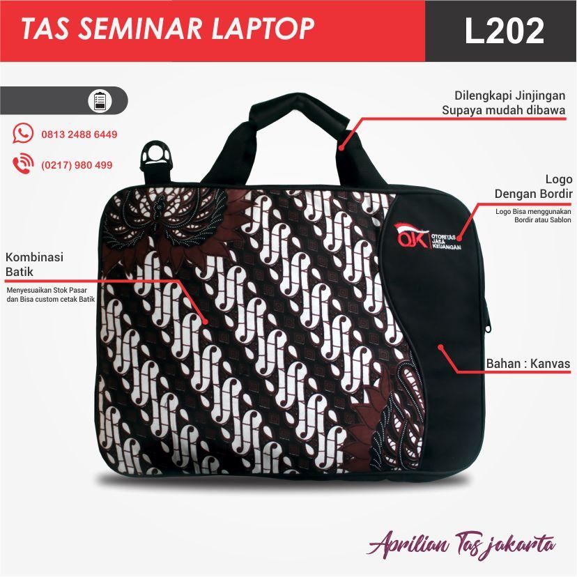 detail tas seminar laptop l206 pesan tas seminar jakarta