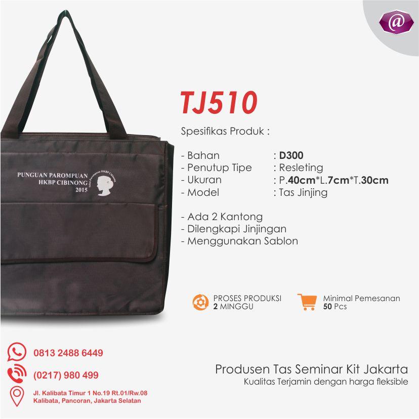 spesifikasi tas seminar jinjing TJ510 konveksi tas seminar jakarta