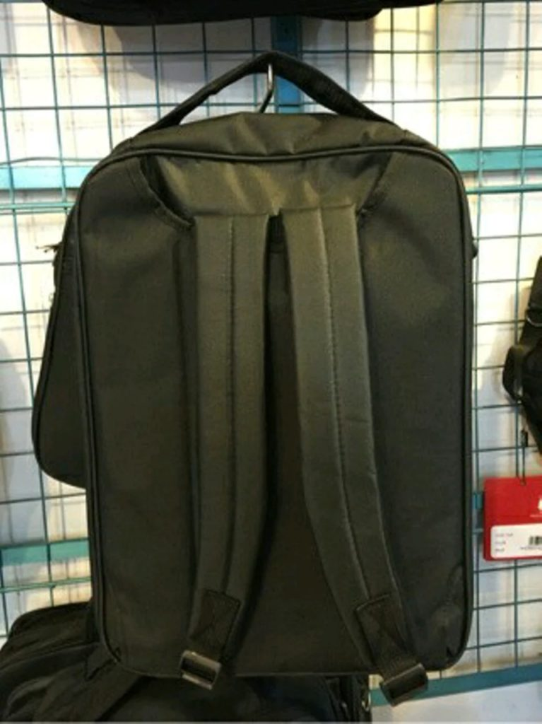 tas ready stock 3 in 1 ransel polo ambasador blkg