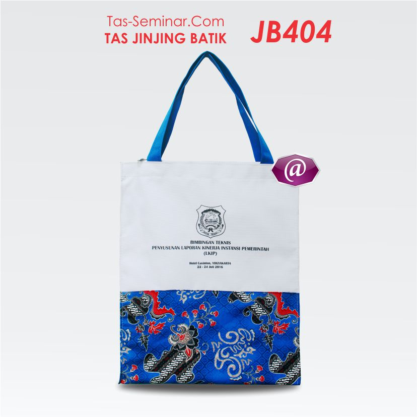 spesifikasi tas seminar jinjing batik JB406 konveksi tas seminar jakarta