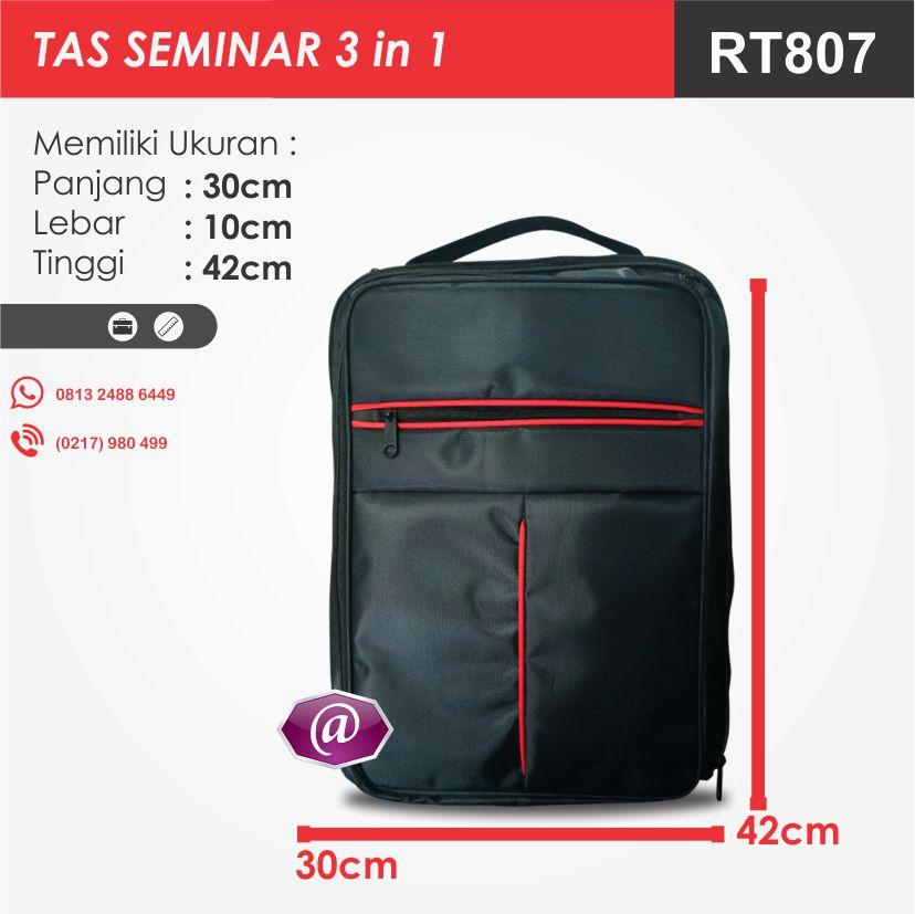 ukuran tas seminar 3in1 rt807 konveksi tas seminar jakarta