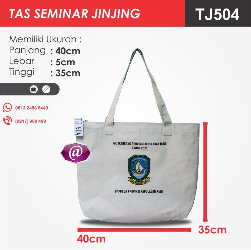 ukuran tas seminar jinjing TJ504 pesan tas seminar jakarta