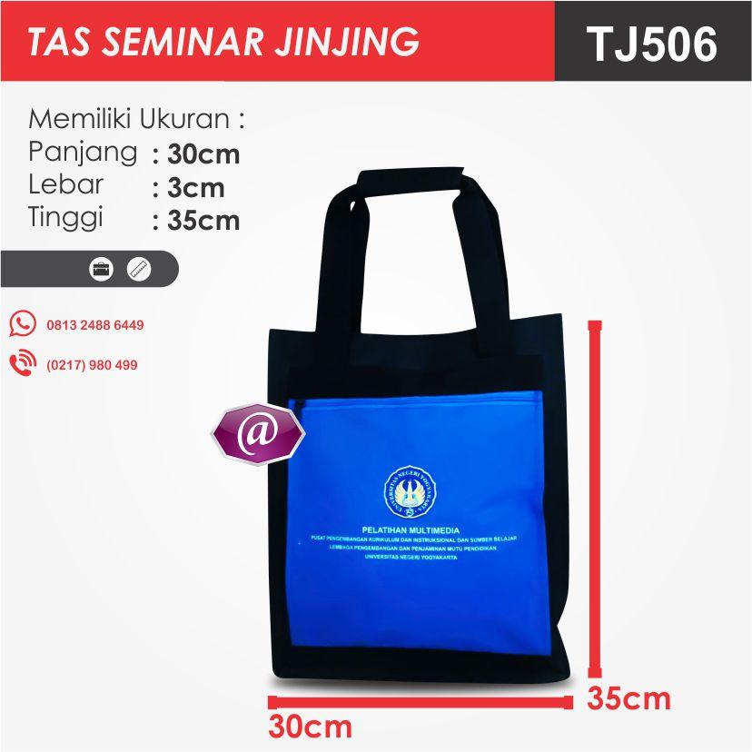 ukuran tas seminar jinjing TJ506 pesan tas seminar jakarta