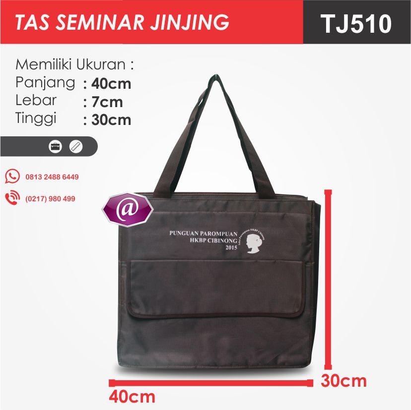 ukuran tas seminar jinjing TJ510 pesan tas seminar jakarta