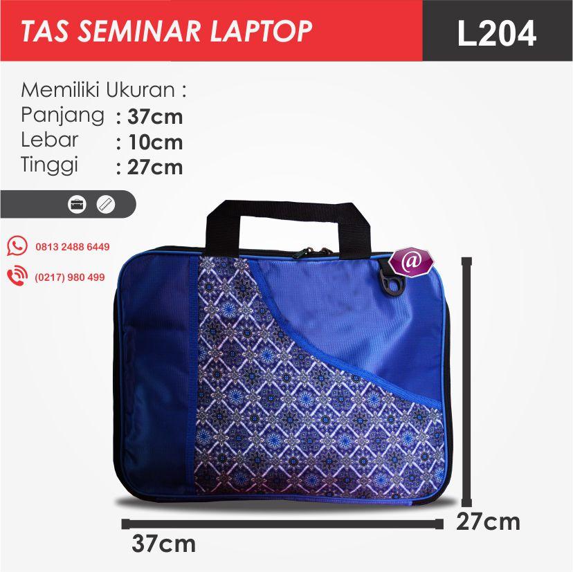 ukuran tas seminar laptop l204 pesan tas seminar jakarta