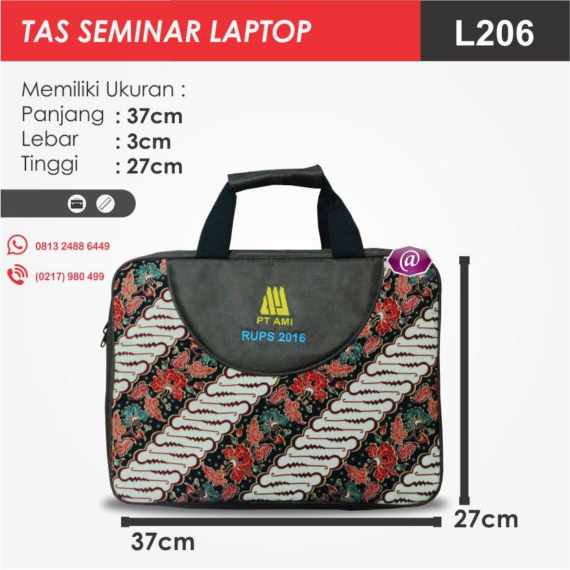 ukuran tas seminar laptop l206 produsen tas seminar jakarta