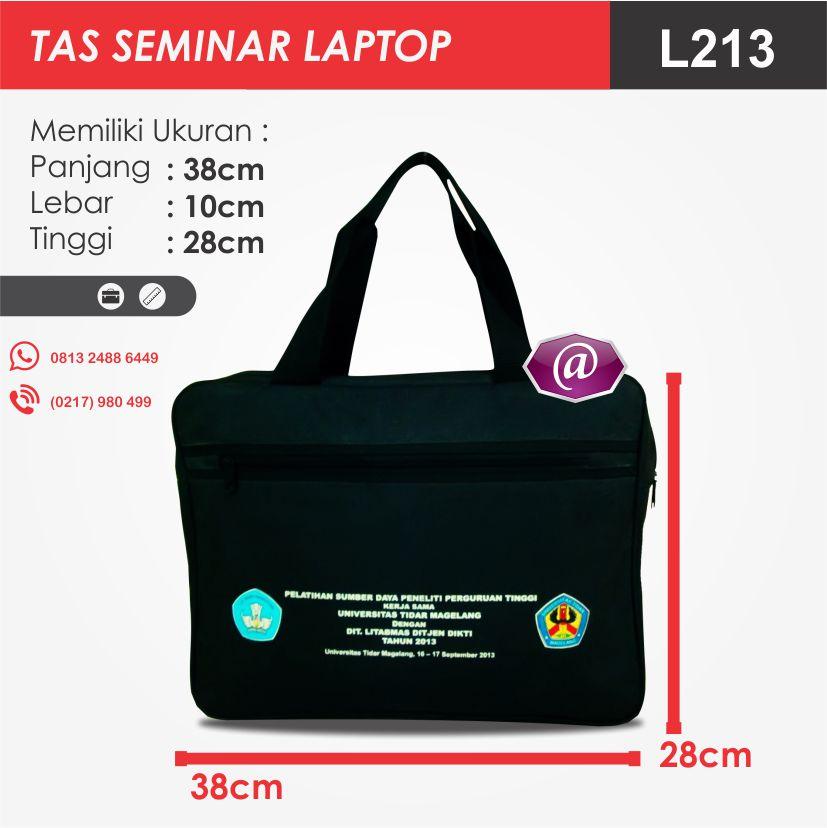 ukuran tas seminar laptop l213 pesan tas seminar jakarta