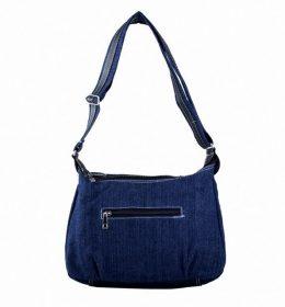tas lempang model lama untuk wanita warna biru