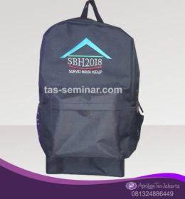 tas seminar, Tas Backpack Abu Abu