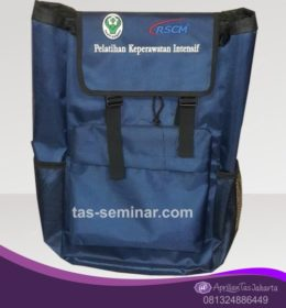 tas seminar, Tas Backpack Biru