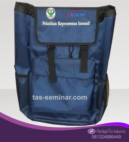 tas seminar, Tas Backpack Biru