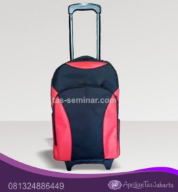 Tas Koper Travel Umroh dengan Troly Bahan Tas D1680 Polo