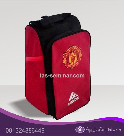 tas seminar, Tas Punggung Custom Logo Sepak Bola Manchester United