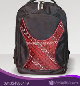 tas seminar Tas Punggung Denier1680 Kombinasi Batik