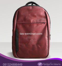 tas seminar Tas Punggung Merah Maron