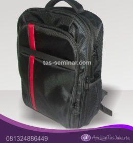 tas seminar, tas souvenir Tas Seminar Backpack Denier 1680 Hitam
