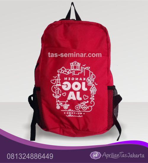 tas seminar, tas souvenir Tas Seminar Backpack Merah
