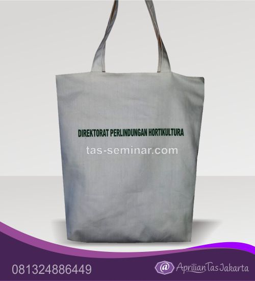 tas seminar, tas souvenir Tas Seminar Jinjing Blacu Polos Putih