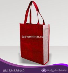 tas seminar, tas diklat, tas pelatihan Tas Seminar Jinjing Warna Merah Putih