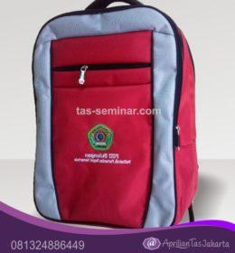 tas seminar, tas pelatihan Tas Seminar Ransel Backpack Merah