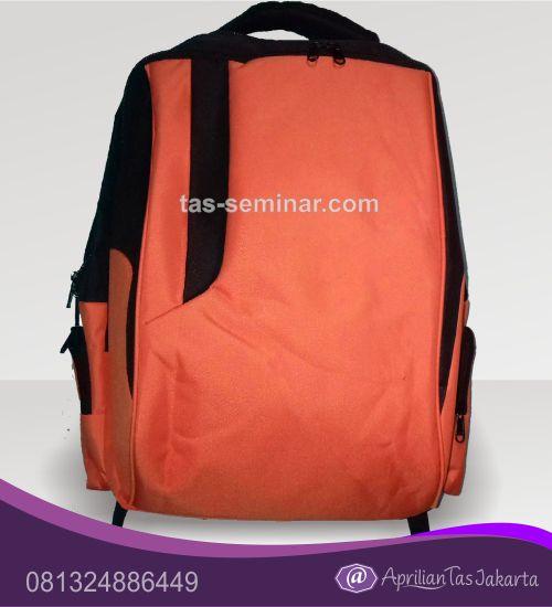 tas seminar, tas pelatihan Tas Seminar Ransel Backpack Orange