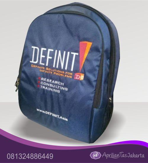 tas seminar, tas pelatihan Tas Seminar Ransel Backpack