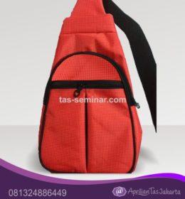 tas seminar, tas diklat, tas pelatihan Tas Seminar Selempang Merah