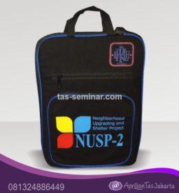 tas seminar, tas diklat, tas pelatihan Tas Seminar Selempang Notebook Full Foam