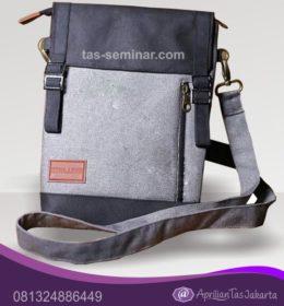 tas seminar, tas diklat, tas pelatihan Tas Seminar Selempang Tali Bahan JW641 dan Logo Embos