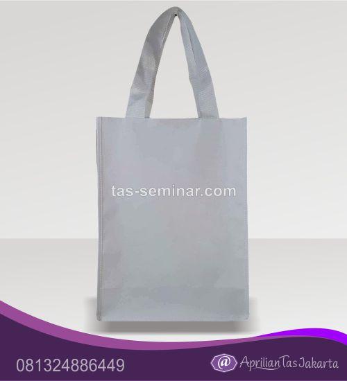 tas seminar, tas souvenir tas jinjing d600 full putih