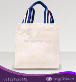 tas seminar, tas souvenir tas jinjing putih tali jinjing pelangi