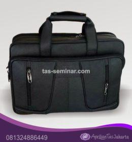 tas Souvenir, tas seminar laptop micro polos hitam
