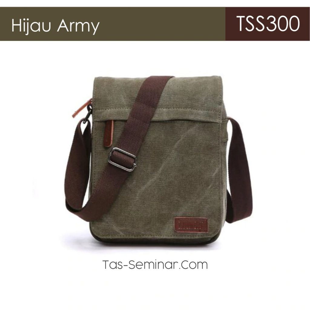 Warna Army Pilihan Tas Seminar Selempang TSS300